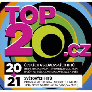 TOP20.CZ 2021/1 - RUZNI, POP NATIONAL [CD album]